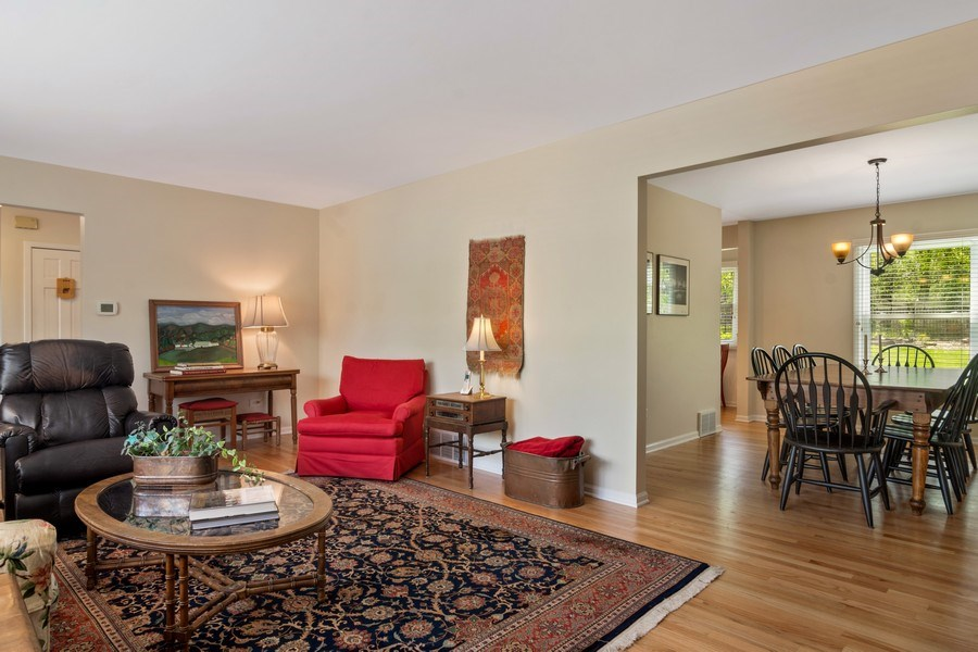 Real Estate Photography - 721 Concord Lane, Barrington, IL, 60010 - Living Room / Dining Room