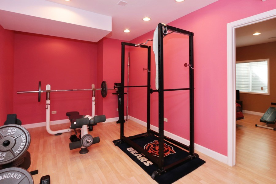 Real Estate Photography - 406 N. White Deer Trail, Vernon Hills, IL, 60061 - Exercise Room
