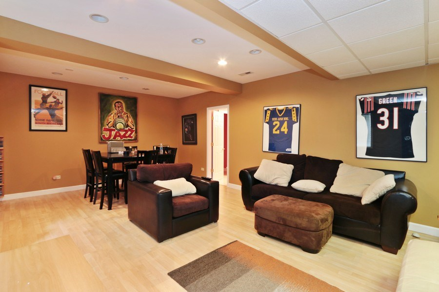 Real Estate Photography - 406 N. White Deer Trail, Vernon Hills, IL, 60061 - Basement