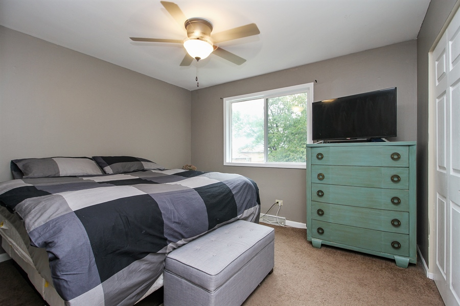 Real Estate Photography - 3324 Hopkins Street, Steger, IL, 60475 - Bedroom
