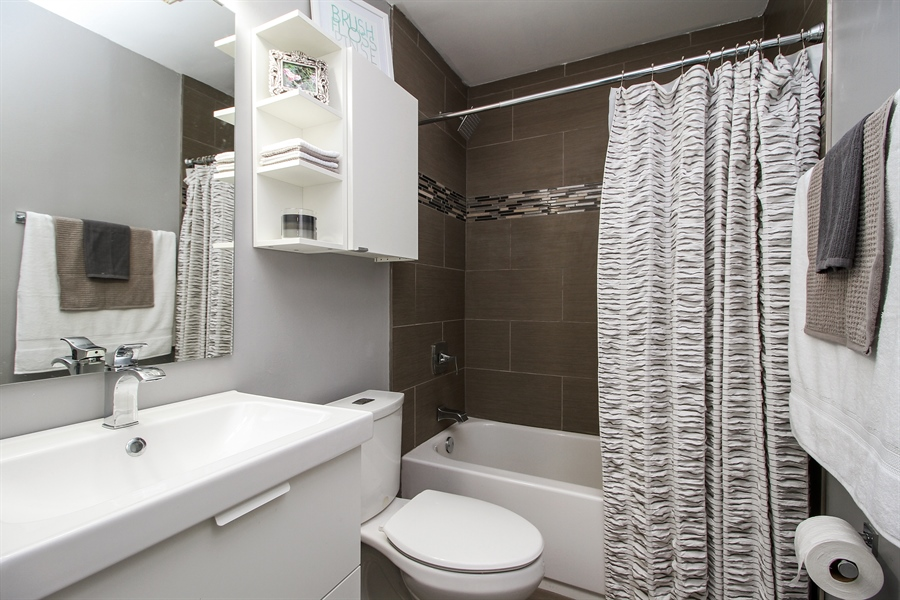 Real Estate Photography - 3324 Hopkins Street, Steger, IL, 60475 - Bathroom