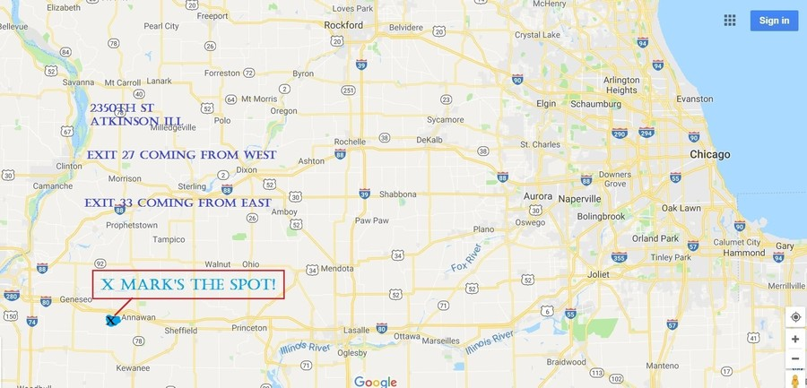 Real Estate Photography - 17547 E 2350 St, Atkinson, IL, 61235 -