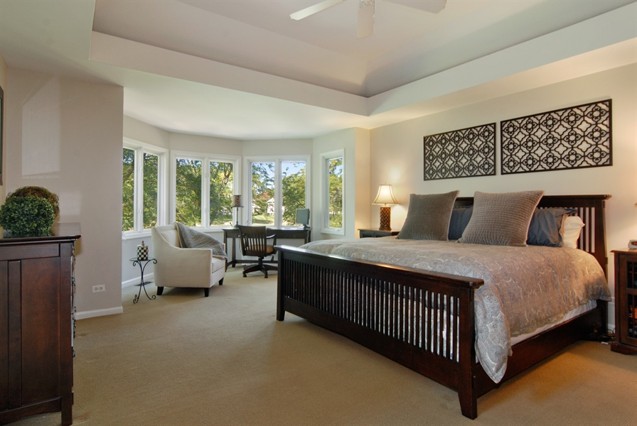 Real Estate Photography - 1090 Chadwick Court, Aurora, IL, 60502 - Master Bedroom