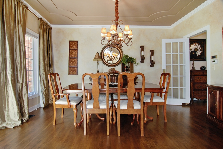 Real Estate Photography - 1090 Chadwick Court, Aurora, IL, 60502 - Dining Room