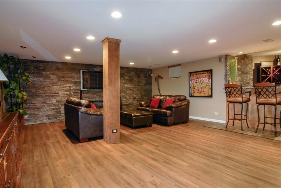 Real Estate Photography - 1090 Chadwick Court, Aurora, IL, 60502 - Basement