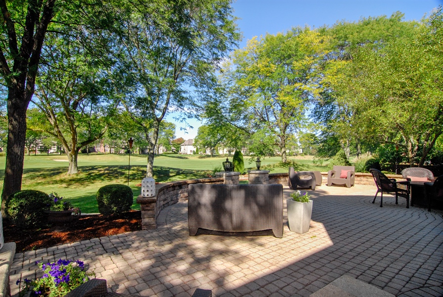 Real Estate Photography - 1090 Chadwick Court, Aurora, IL, 60502 - View of Golf Course