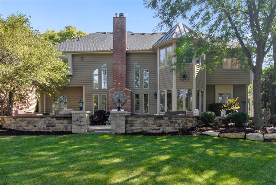 Real Estate Photography - 1090 Chadwick Court, Aurora, IL, 60502 - Rear View