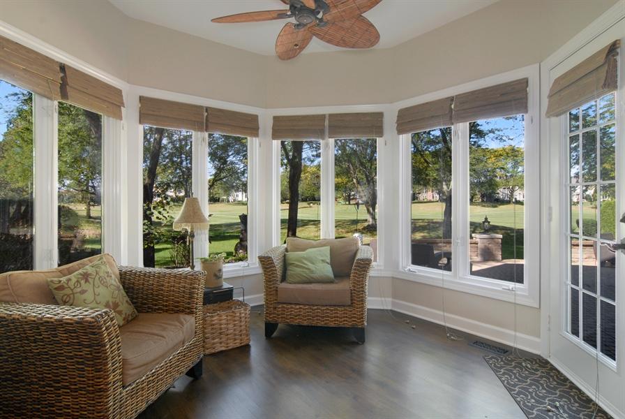 Real Estate Photography - 1090 Chadwick Court, Aurora, IL, 60502 - Sunroom