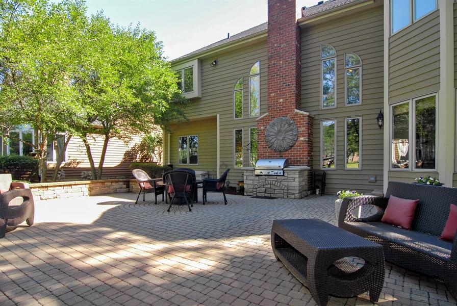 Real Estate Photography - 1090 Chadwick Court, Aurora, IL, 60502 - Patio