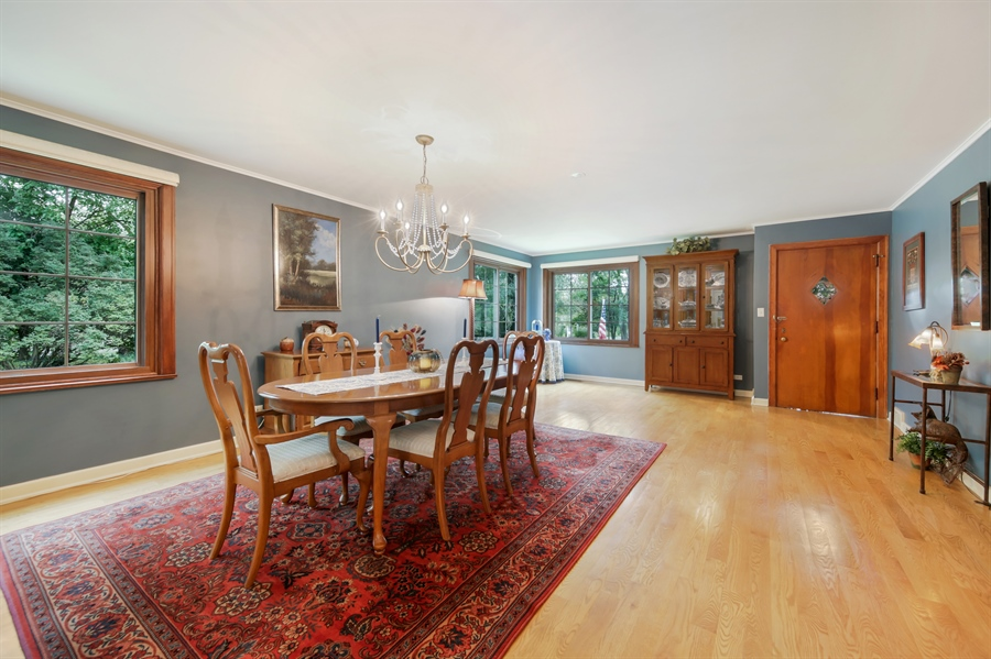 Real Estate Photography - 3S620 Mignin Drive, Warrenville, IL, 60555 - Dining Room