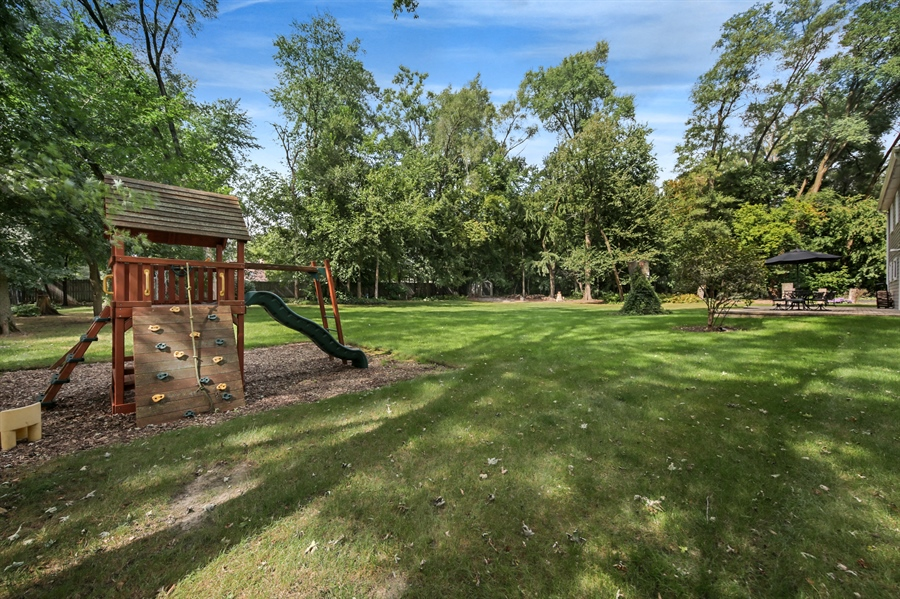 Real Estate Photography - 3S620 Mignin Drive, Warrenville, IL, 60555 - Back Yard