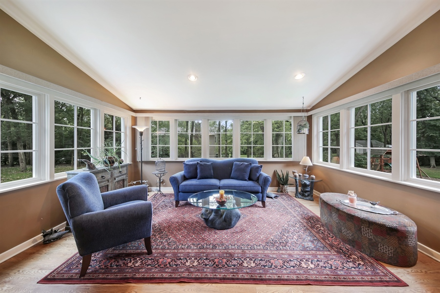 Real Estate Photography - 3S620 Mignin Drive, Warrenville, IL, 60555 - Family Room