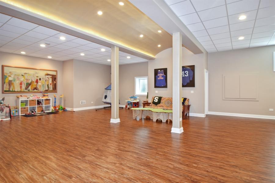 Real Estate Photography - 78 E. WILMETTE Avenue, Palatine, IL, 60067 - Rec Room