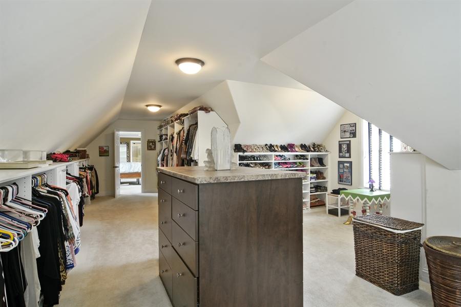 Real Estate Photography - 78 E. WILMETTE Avenue, Palatine, IL, 60067 - Master Bedroom Closet