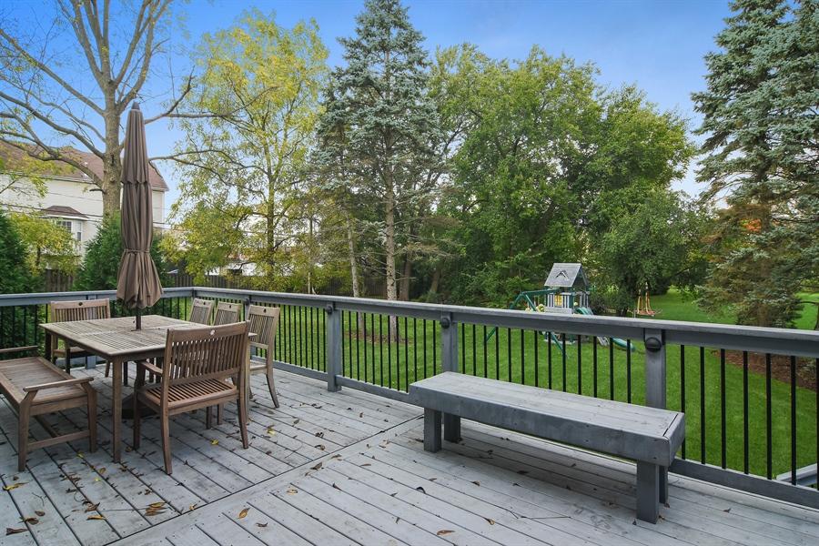 Real Estate Photography - 78 E. WILMETTE Avenue, Palatine, IL, 60067 - Deck