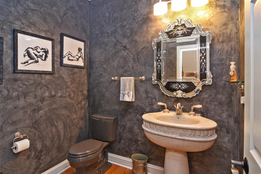 Real Estate Photography - 78 E. WILMETTE Avenue, Palatine, IL, 60067 - Half Bath