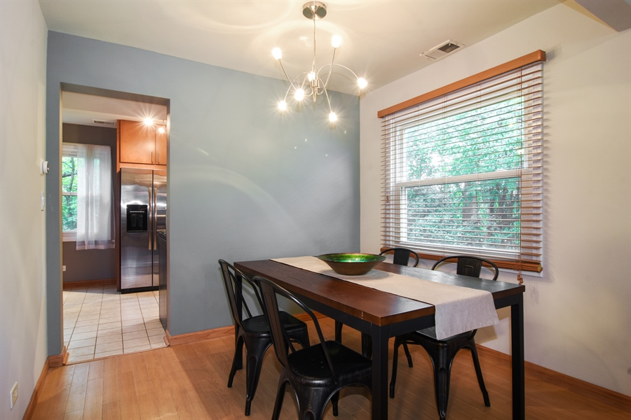 Real Estate Photography - 4997 Somerton Drive, Hoffman Estates, IL, 60010 - Dining Room