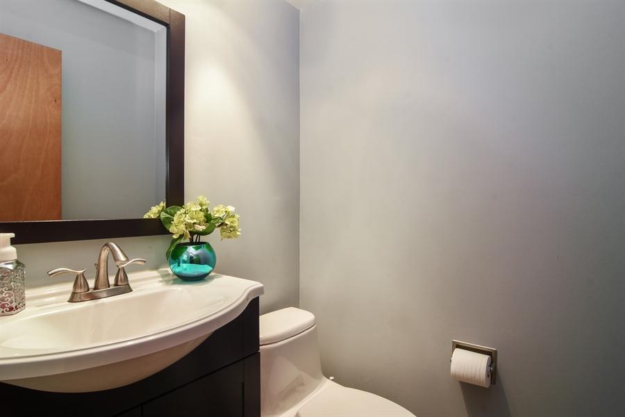 Real Estate Photography - 4997 Somerton Drive, Hoffman Estates, IL, 60010 - Half Bath
