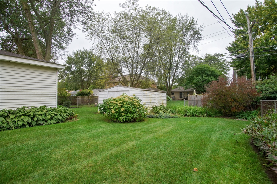 Real Estate Photography - 308 N. William Street, Mount Prospect, IL, 60056 - Back Yard