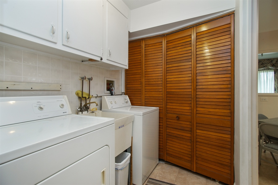 Real Estate Photography - 308 N. William Street, Mount Prospect, IL, 60056 - Laundry Room