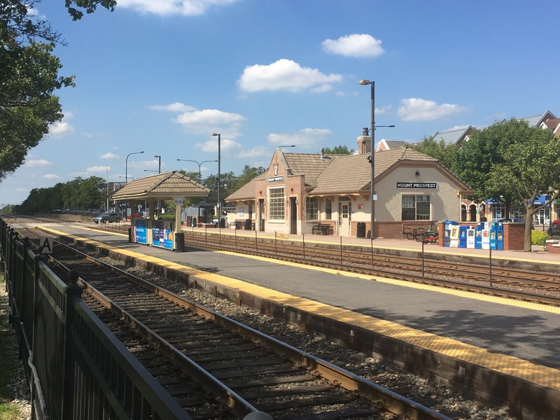 Real Estate Photography - 308 N. William Street, Mount Prospect, IL, 60056 - METRA Station
