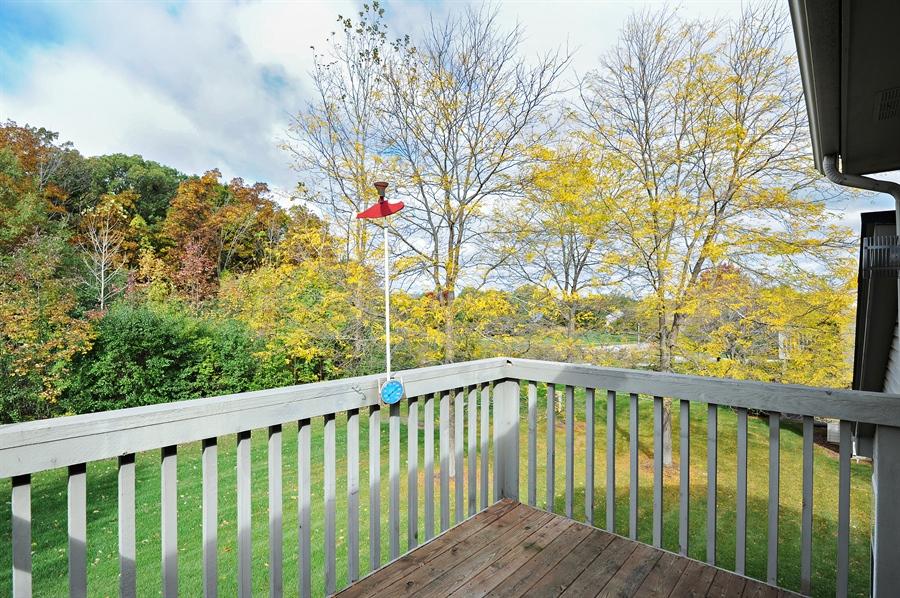 Real Estate Photography - 533 Willow Way, Lindenhurst, IL, 60046 - Balcony