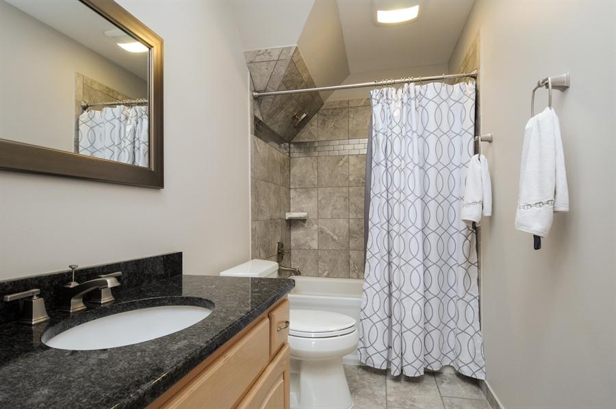 Real Estate Photography - 10615 Burnham Court, Naperville, IL, 60564 - 3rd Bathroom