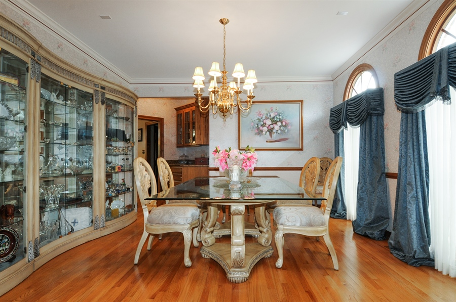 Real Estate Photography - 10615 Burnham Court, Naperville, IL, 60564 - Dining Room