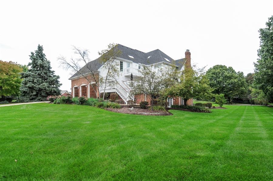 Real Estate Photography - 10615 Burnham Court, Naperville, IL, 60564 - Back Yard