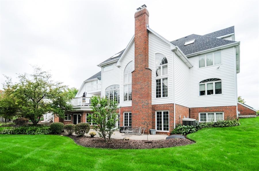 Real Estate Photography - 10615 Burnham Court, Naperville, IL, 60564 - Rear View