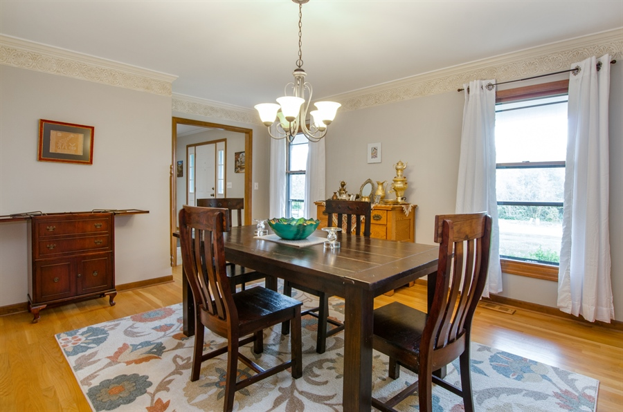 Real Estate Photography - 17N385 Binnie Lakes Trail, West Dundee, IL, 60118 - Dining Room