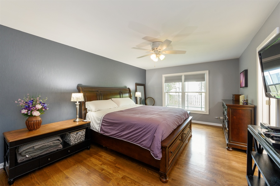 Real Estate Photography - 4040 N. Harvard Avenue, Arlington Heights, IL, 60004 - Master Bedroom