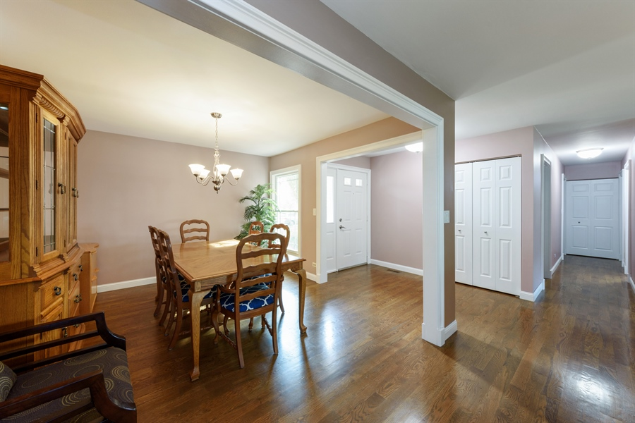 Real Estate Photography - 4040 N. Harvard Avenue, Arlington Heights, IL, 60004 - Foyer/Dining Room