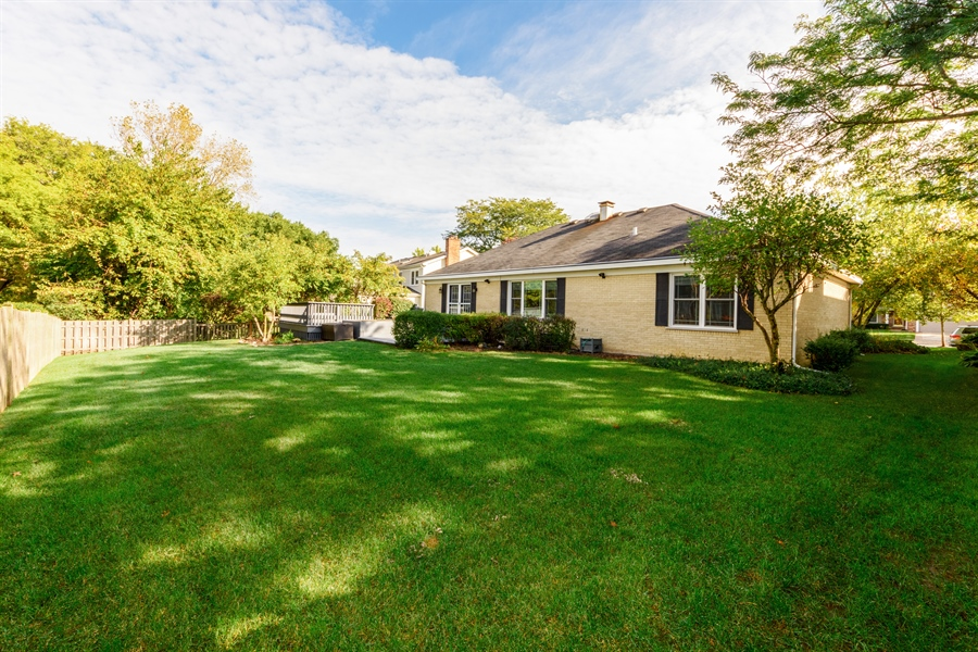 Real Estate Photography - 4040 N. Harvard Avenue, Arlington Heights, IL, 60004 - Rear View