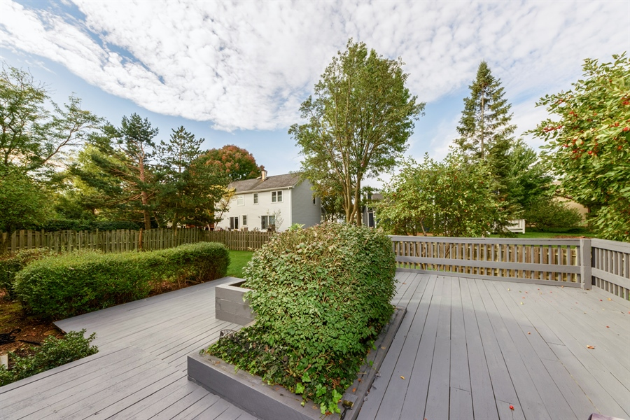 Real Estate Photography - 4040 N. Harvard Avenue, Arlington Heights, IL, 60004 - Deck