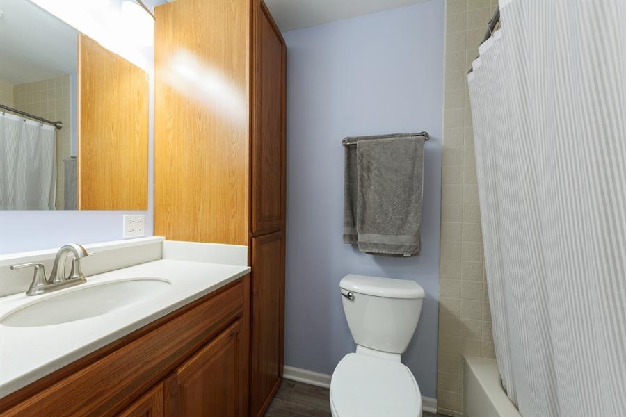 Real Estate Photography - 4040 N. Harvard Avenue, Arlington Heights, IL, 60004 - 2nd Bathroom