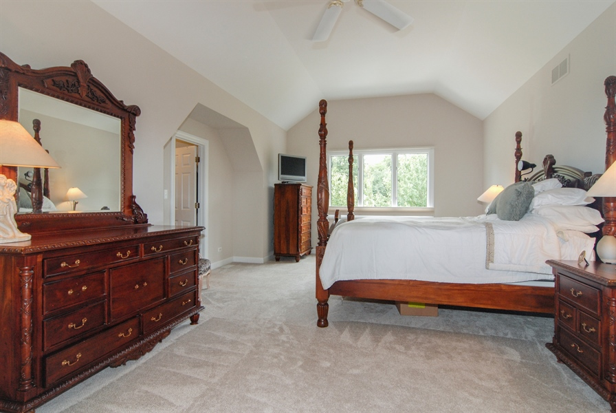 Real Estate Photography - 2321 SUTTON Lane, Aurora, IL, 60502 - Master Bedroom