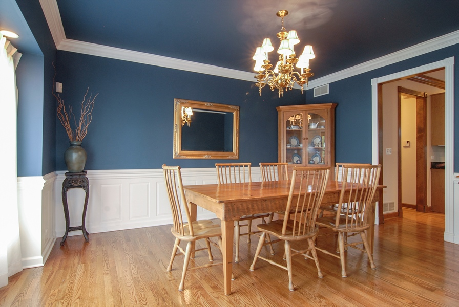 Real Estate Photography - 2321 SUTTON Lane, Aurora, IL, 60502 - Dining Room