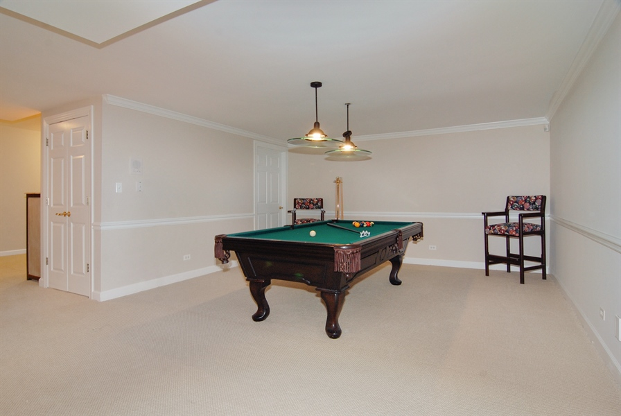 Real Estate Photography - 2321 SUTTON Lane, Aurora, IL, 60502 - Basement