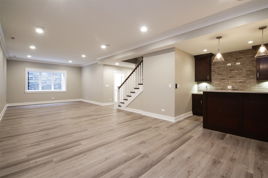 Real Estate Photography - 1719 Maplewood Lane, Glenview, IL, 60025 - Basement
