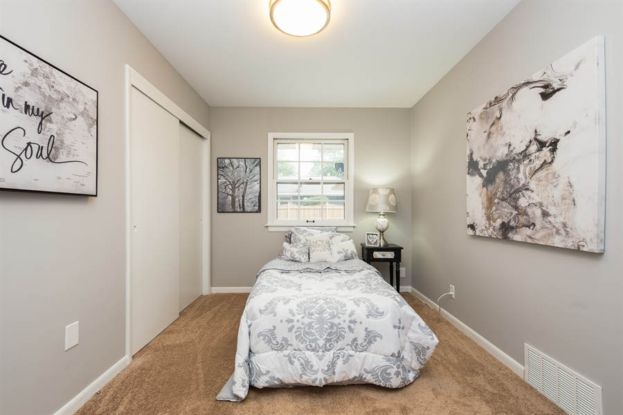 Real Estate Photography - 2279 Copley Street, Aurora, IL, 60506 - 2nd Bedroom