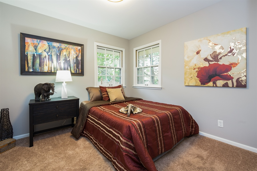 Real Estate Photography - 2279 Copley Street, Aurora, IL, 60506 - 3rd Bedroom