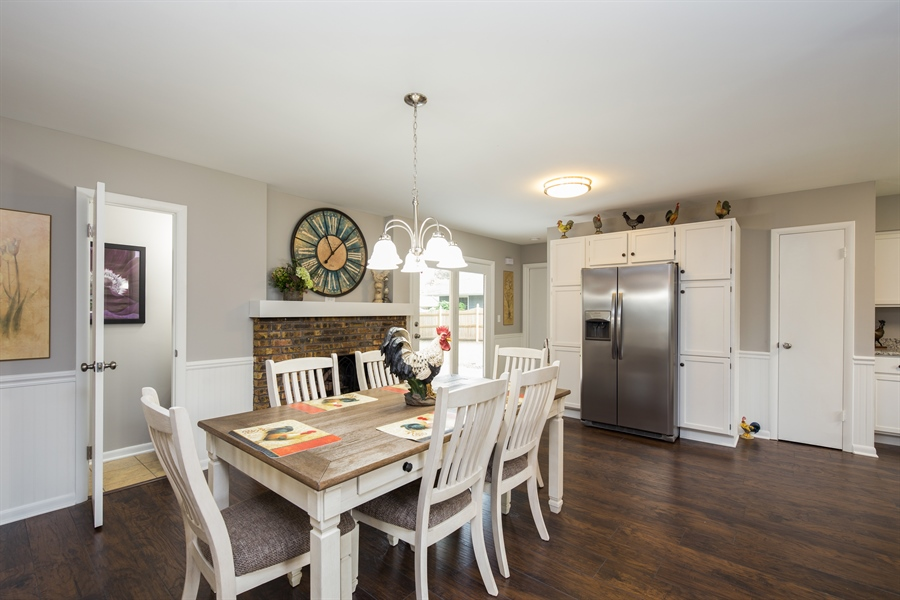 Real Estate Photography - 2279 Copley Street, Aurora, IL, 60506 - Dining Room