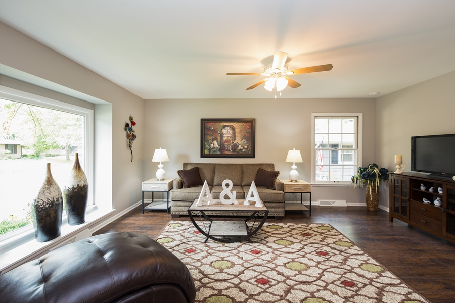 Real Estate Photography - 2279 Copley Street, Aurora, IL, 60506 - Family Room