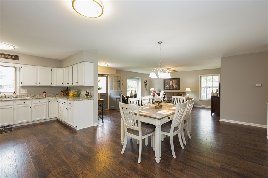 Real Estate Photography - 2279 Copley Street, Aurora, IL, 60506 - Dining Area