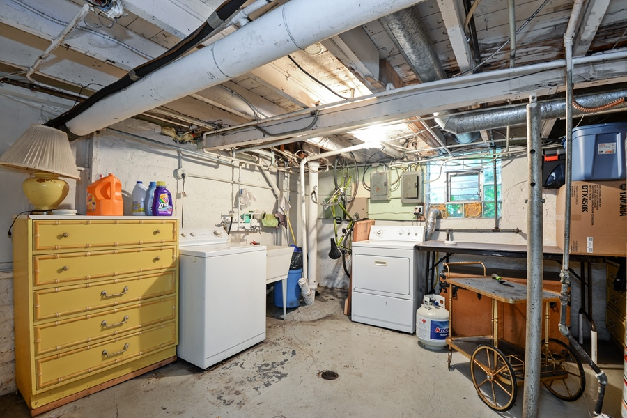Real Estate Photography - 2011 W. Lunt Avenue, Chicago, IL, 60645 - Laundry Room
