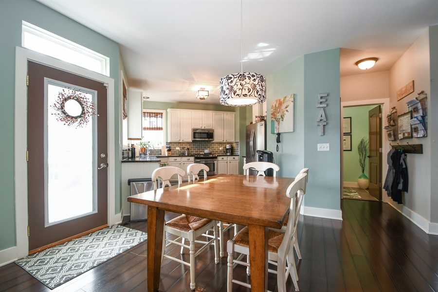Real Estate Photography - 2710 Eastview Dr, Joliet, IL, 60432 - Kitchen / Breakfast Room