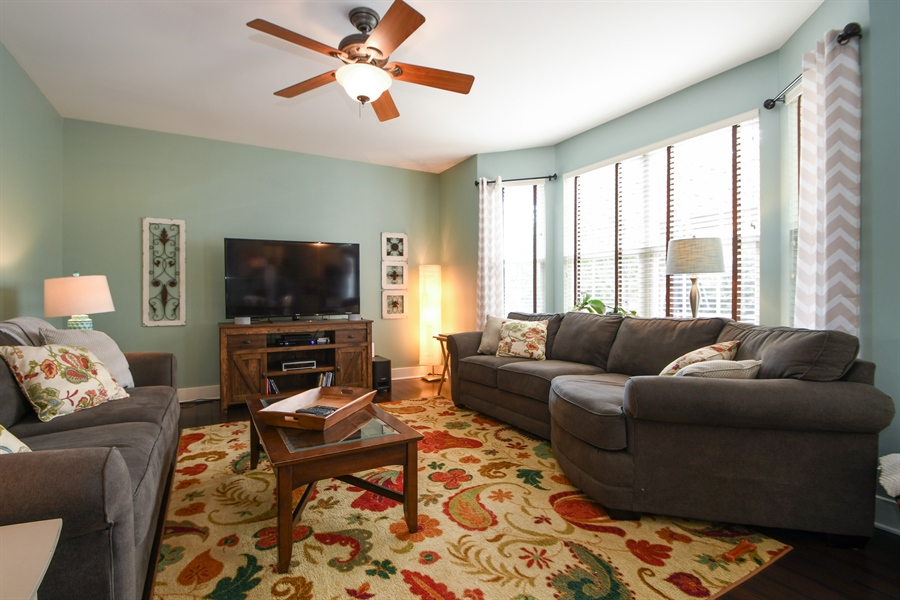 Real Estate Photography - 2710 Eastview Dr, Joliet, IL, 60432 - Family Room