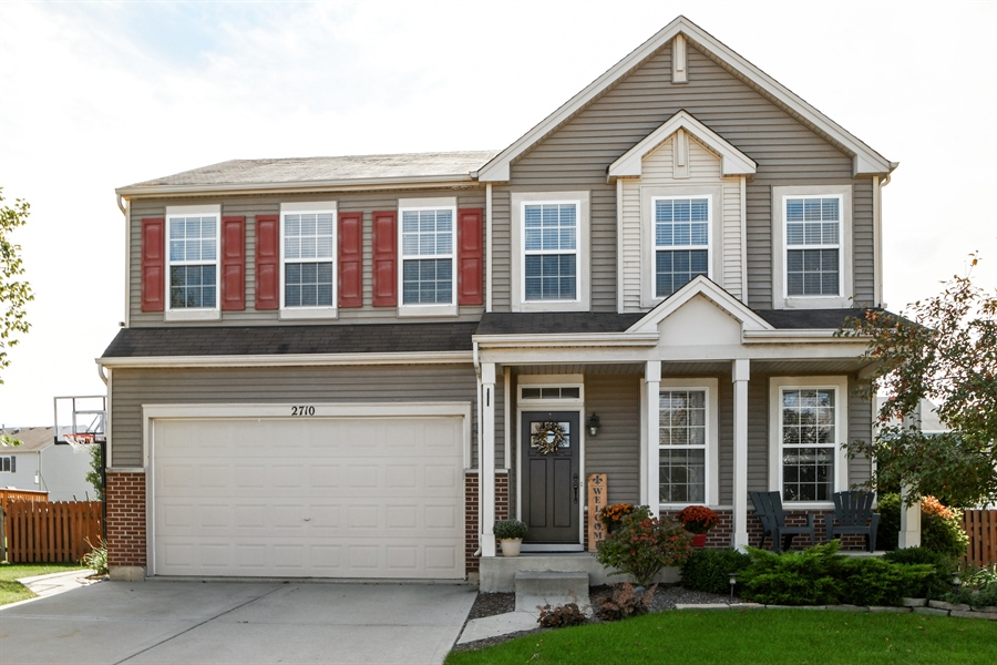 Real Estate Photography - 2710 Eastview Dr, Joliet, IL, 60432 - Front View