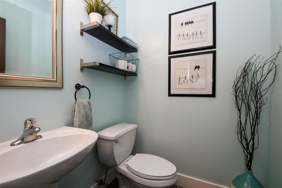 Real Estate Photography - 2710 Eastview Dr, Joliet, IL, 60432 - Half Bath